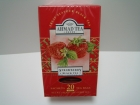 Strawberry, Black Tea, (20 x 2gr), 40gr