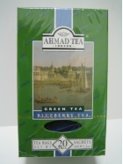 Blueberry Green Tea, (20 x 2gr), 40gr