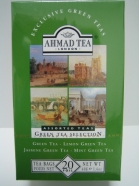 Green Tea Selection, 4 Sorten, (20 x 2gr), 40gr