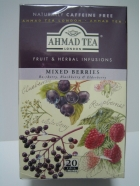 Mixed Berries (Raspberry, Blackberry & Elderberry), (20 x 2gr), 40gr